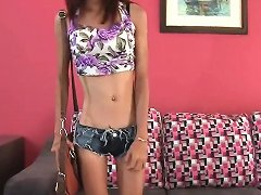 19yo Thai Girl Auditions To Be A Gogo Dancer